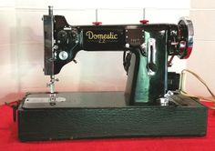 German Domestic Imperial, Restored by Stagecoach Road Vintage Sewing Machine