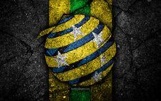 28c30d299e5 Download wallpapers 4k, Australia football team, logo, AFC, football,  asphalt texture, soccer, Australia, Asia, Asian national football teams,  Australian ...