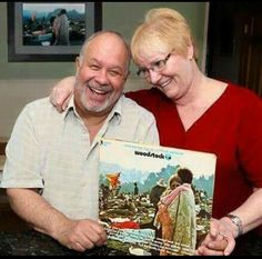 The couple from the Woodstock album cover is still together.