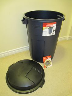 How to convert a Garbage can into a rain barrel                                                                                                                                                                                 More