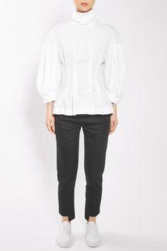 Cotton Corset Top by Boutique