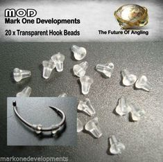MOD-20-X-TRANSPARENT-HOOK-BEADS-STOPS-BUFFER-FOR-CARP-RIGS-POP-UPS-D-RIGS