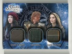 2013 Upper Deck THOR 2 Dark World Materials Triple  DMT-8 Darcy Fandral Jane