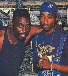 Big Daddy Kane and Tupac Shakur