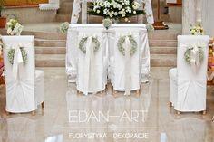 Dekoracje kościołów Kosewo, Olsztyn, Warmińsko-Mazurskie Edan-Art #wesele #slub