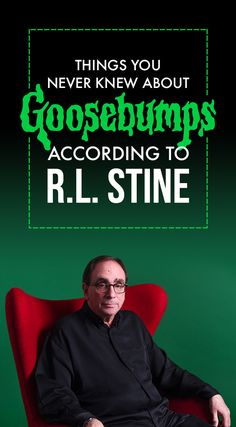 "13 Things You Never Knew About The ""Goosebumps"" Book Series From R.L. Stine Himself"
