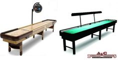 Here are a few things you should keep in mind while buying a shuffleboard table: