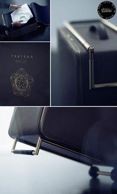 The Kage Trolley Suitcase By Tsatsas For Wallpaper-handmade-   BEST OF MILAN DESIGN WEEK 2013 | Yatzer