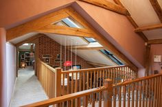 Owner doubles the size of the house with a double storey glazed oak framed extension.
