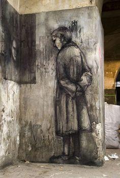 Borondo murals