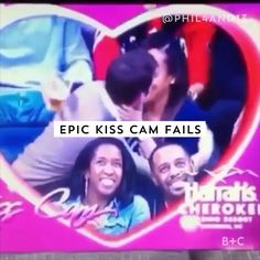 Pinterest: belleeryan17 Watch this video for some of the most hilarious, epic kiss cam fails ever.