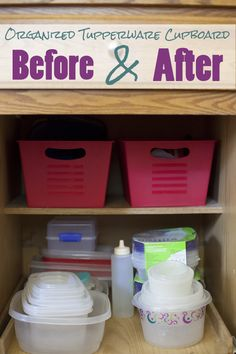 How to Organize Your Tupperware Cupboard for a Couple Bucks (5 easy Steps