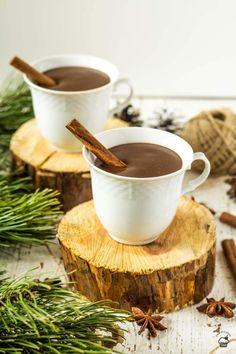 Hustá horúca čokoláda Chocolate Torte, Chocolate Heaven, Best Chocolate, Chocolate Coffee, Chocolate Recipes, Chocolate Chip Cookies, Tableware, Hot, Cakes