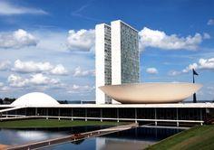 Oscar Niemeyer Congresso Nacional - Brasília
