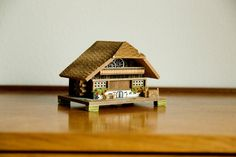Vintage German Music Box / House / Cottage by MicroscopeTelescope