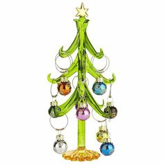 Christmas Ornament Wine Charm Tree from Pier One - so cute!