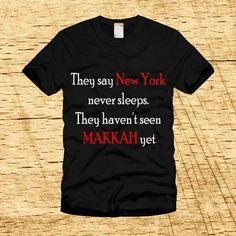 They say New York never sleeps, They haven't seen MAKKAH yet