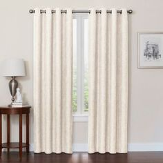 Quinn Grommet Top 100 Blackout Window Curtain Panel