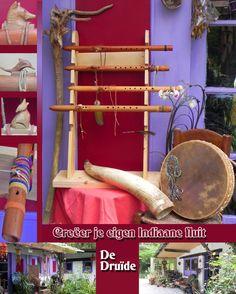 Indiaanse fluit: Zelf een fluitmaken