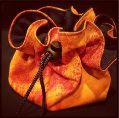 Dice Bag by CrazySewer on Etsy, $15.00