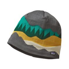 Patagonia Lined Beanie - Hi Country: Forge Grey HIFG