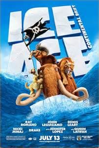 Ice Age Continental Drift. Scrat steals the show.