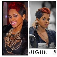 My short hair crush.... ✨Ravaughn✨