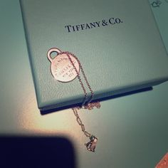 "HPTiffany & Co. ""Please return to.."" necklace Gently used. Sterling silver. ""Please return to Tiffany & Co."" Necklace. 16"". No trades or pp Tiffany & Co. Jewelry Necklaces"