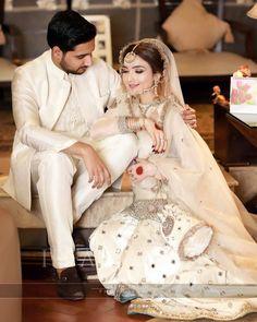 Latest Bridal Dresses, Pakistani Wedding Outfits, Wedding Dresses For Girls, Pakistani Wedding Dresses, Bridal Outfits, Indian Outfits, Indian Dresses, Casual Wedding Attire, Wedding Wear
