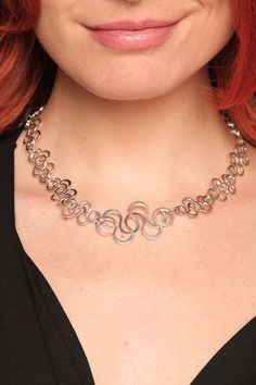 """TISTIK """"Foam"""" Sterling Silver Necklace $328.00 Find and other """"Foam"""" pieces in the store, at www.shoptistik.com or at Shoptiques.com    SOOOO BEAUTIFUL!!!"""