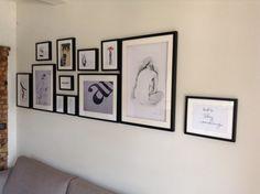 Notre mur de tableaux ...
