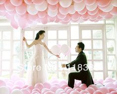 """100 PCS Birthday Wedding Party Decor  Thicking Latex Balloons  white   Color 12"""" 12 inch  AB0A-in Event & Party Supplies from Home & Garden on Aliexpress.com"""