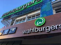 Have you tried a burger from #Wahlburgers?  @markwahlerg #wahlbergburgers #yummy #hamburgers