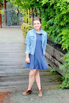 style me lauren, $38 swing dress