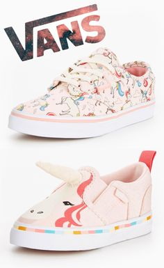 Check out these Unicorn Vans for the kids, I wish they did them in adults sizes too!