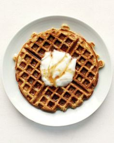 Yogurt Waffles Recipe