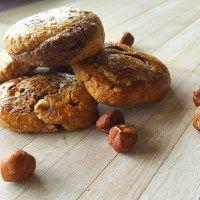 Kokos Chocoladekoekjes met hazelnoten