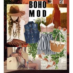 So boho............. by style-stories on Polyvore featuring Dsquared2, Romance Was Born, Valentino, MICHAEL Michael Kors, John-Richard and Vanessa Mooney