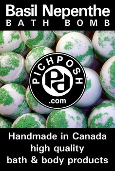 "Basil Nepenthe PICHPOSH Bath Bomb  A fun fresh irresistible fragrance named for the yacht ""Nepenthe"" from Florida's Historical Vizcaya estate. Nepenthe was originally a potion used by the ancients in Greece to induce forgetfulness of pain and sorrow.  Shop Here:  http://www.pichposh.com/securestore/c56625p9558944.2.html    Visit  http://www.pichposh.com"