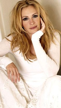 Julia Roberts-I actually think she looks better as a blonde.