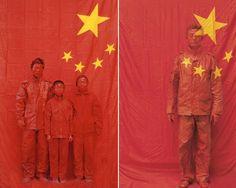 Artist Liu Bolin (劉勃麟) disappears in China