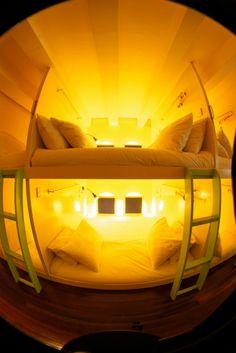 Cozy up! #pod #hostel