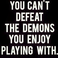You can't defeat...