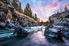 """Team of Idaho Photographers on Instagram: """"FALL RIVER ================================== Beautiful sunrise along the Fall River near Sheep Falls before the first snow. Photo by @packtography. ____________ Keep tagging #idahodaily to be featured TONIGHT! ____________"""""""