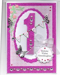 Birthday card for girls using Chloe butterflies Girl Birthday Cards, Birthday Wishes, Birthday Numbers, Baby Cards, Butterflies, Chloe, Gift Wrapping, Frame, Girls