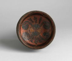 Finely Turned and Decorated Ceremonial Ale Bowl image 3