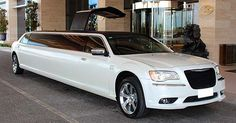 12-Passenger-Jet-door-Pearl-White-Chrysler-Limo-Hire-Perth-Kings-Park-wicked-limos-perth
