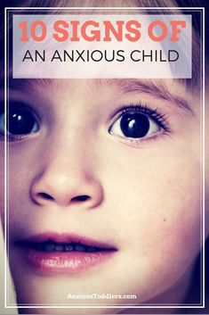 What are the signs of an anxious child? It may not be what you expect!