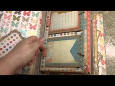 Twine Binding Mini Album Tutorial - YouTube