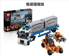 (34.39$)  Know more - http://ai1em.worlditems.win/all/product.php?id=32790823506 - 2017 Hot 20035 New 631Pcs Technic Series The Container Trucks and Loaders Set Building Blocks Bricks Educational Toys with 42062